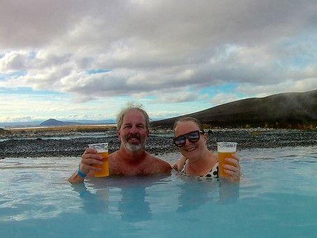 Iceland #2 - Hot springs, trolls, and 66 degrees North