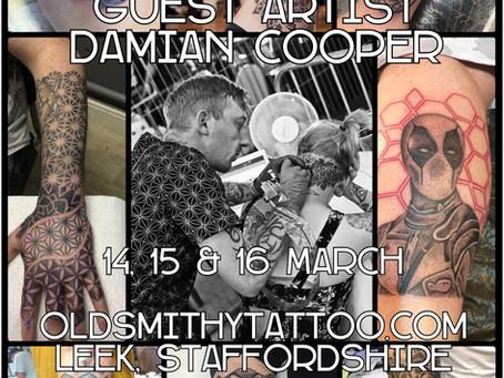 Damian Copper - Guest Artist - 14th, 15th & 16th March 2019