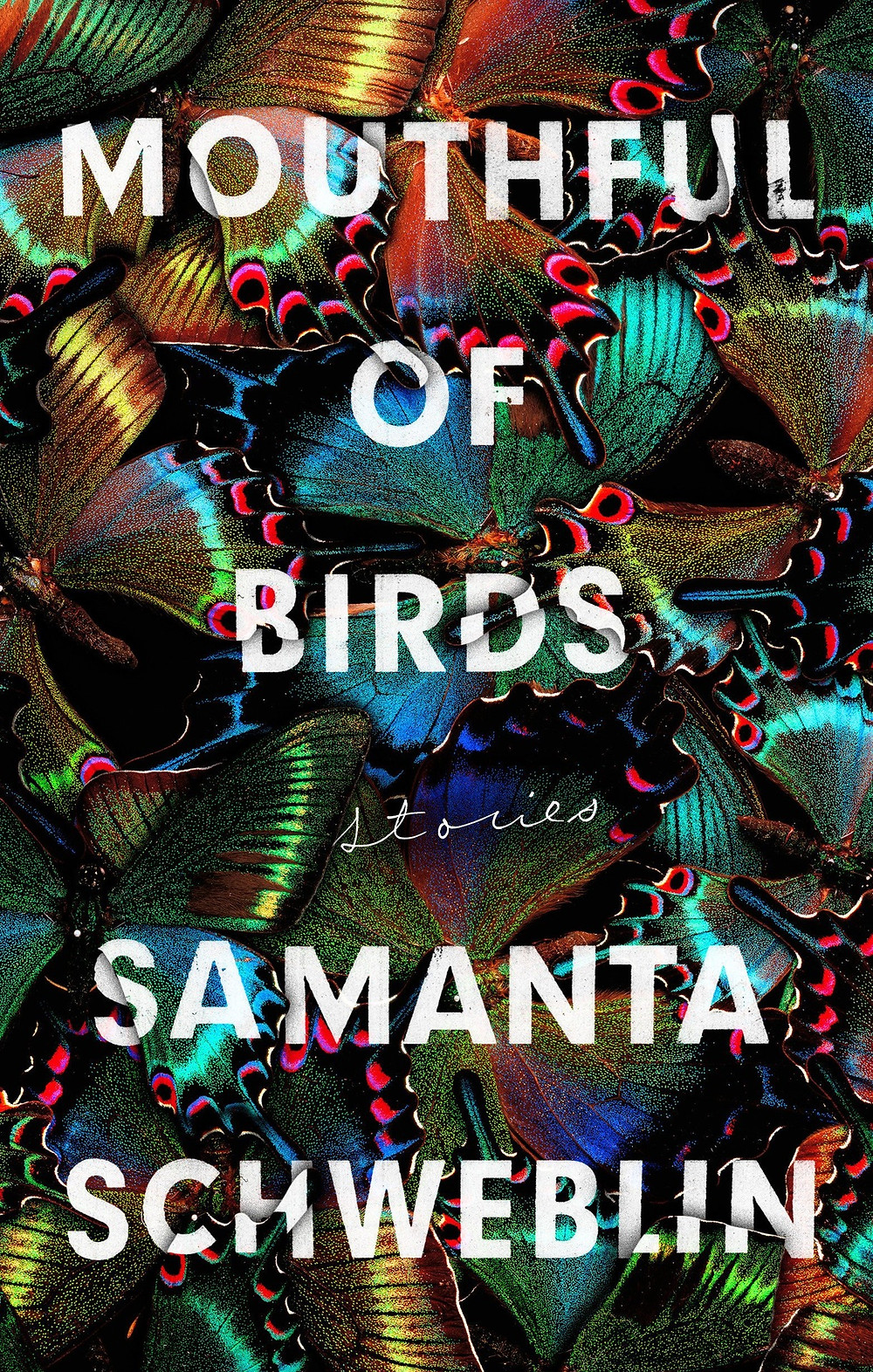 "Mouthful of Birds: Stories by Samanta Schweblin (Author). The Book Slut book reviews, thebooksglut Friday debrief, ""Superb"" -- Vogue  ""What makes Schweblin so startling as a writer, however, what makes her rare and important, is that she is impelled not by mere talent or ambition but by vision."" -- New York Times A powerful, eerily unsettling story collection from a major international literary star. The brilliant stories in Mouthful of Birds burrow their way into your psyche and don't let go. Samanta Schweblin haunts and mesmerizes in this extraordinary collection featuring women on the edge, men turned upside down, the natural world at odds with reality. We think life is one way, but often, it's not -- our expectations for how people act, love, fear can all be upended. Each character in Mouthful of Birds must contend with the unexpected, whether a family coming apart at the seams or a child transforming or a ghostly hellscape or a murder. Schweblin's stories have the feel of a sleepless night, where every shadow and bump in the dark take on huge implications, leaving your pulse racing, and the line between the real and the strange blurs. Product Details Price $16.00  $14.72 Publisher Riverhead Books Publish Date January 07, 2020 Pages 240 Dimensions 5.1 X 0.7 X 8.1 inches 