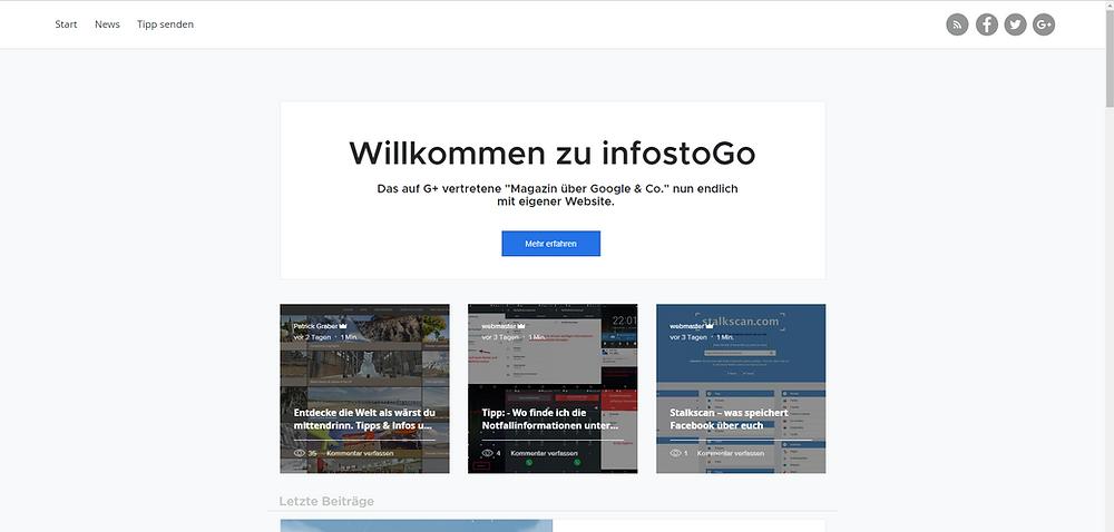 infostogo.com Website