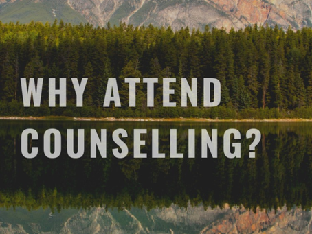 Should I attend counselling?