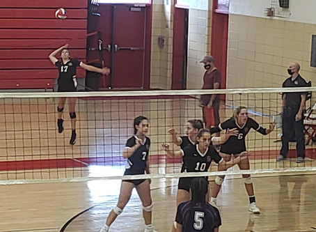 Lady Wildcats Ace the Lady Devils