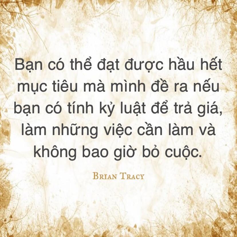 Tính kỷ luật - Brian Tracy