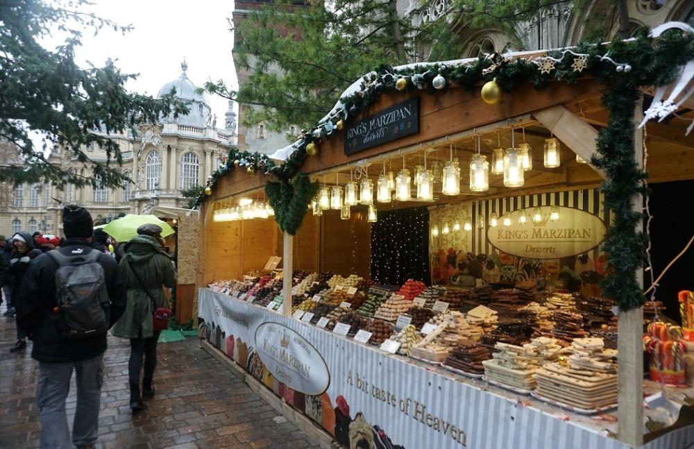 שוק חג מולד בודפשט