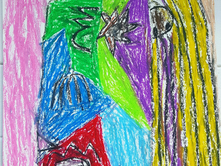Picasso Inspired Art