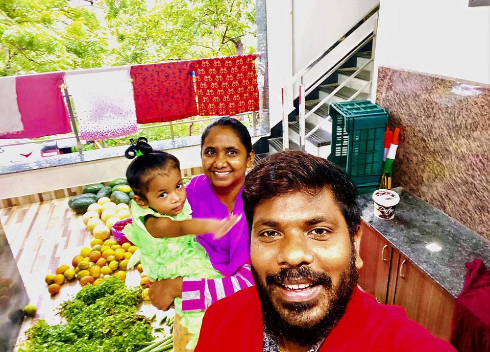 Ravi & Jyostna Nangedda, Vijayawada, India, affluent society