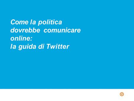 Come comunicare  su twitter
