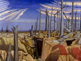 John Nash, Oppy Wood,1917.