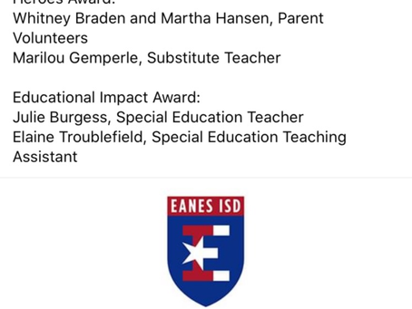 Eanes Elementary Awards