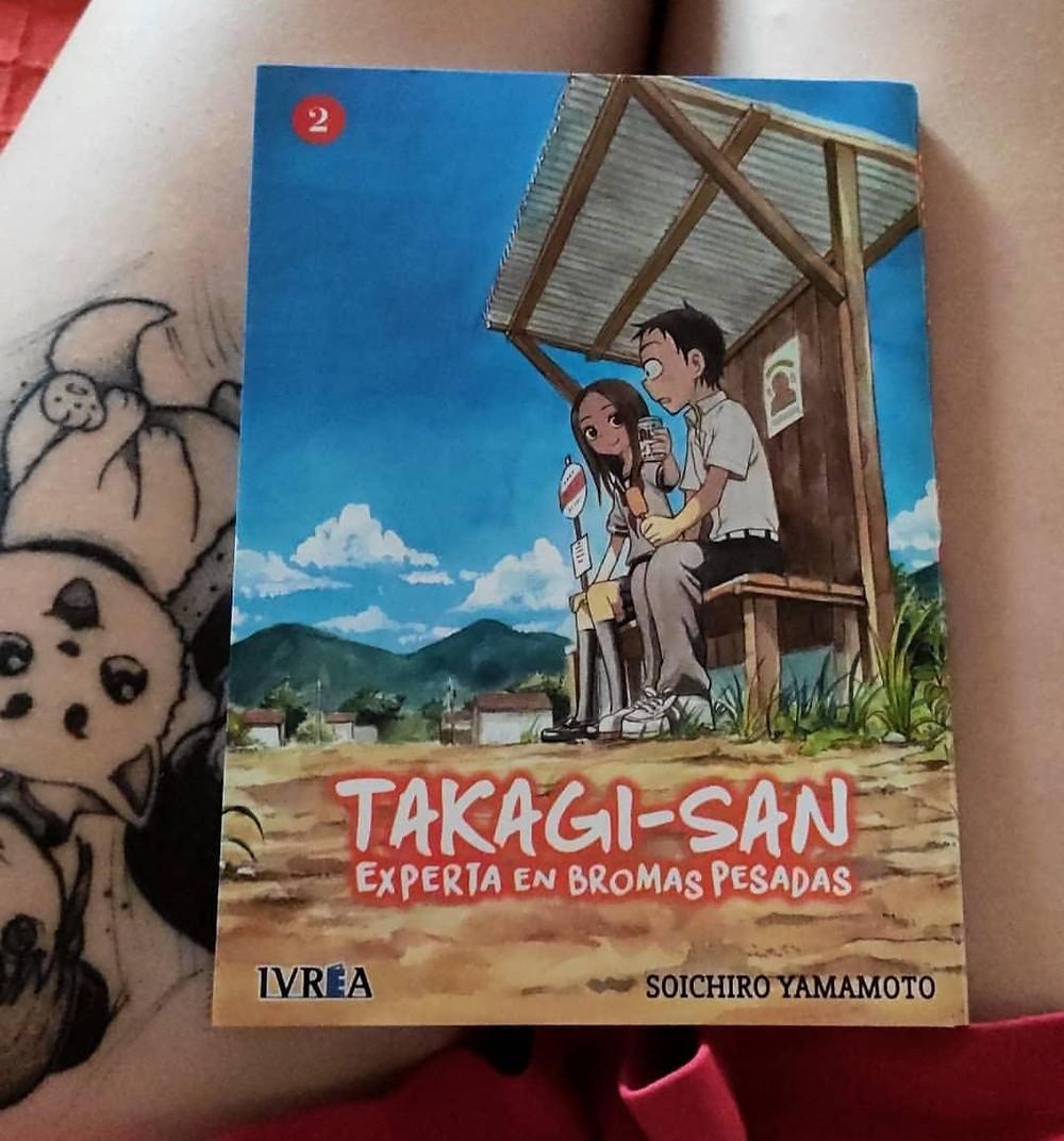 Takagi-san experta en bromas pesadas tomo 2 (ed. Ivrea)