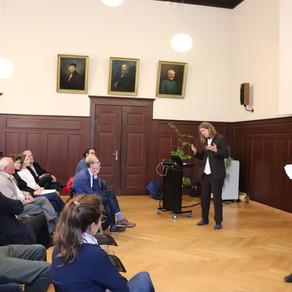 Von Bottom up & top down Prozessen - die 15. Sustainability Lecture an der HNEE