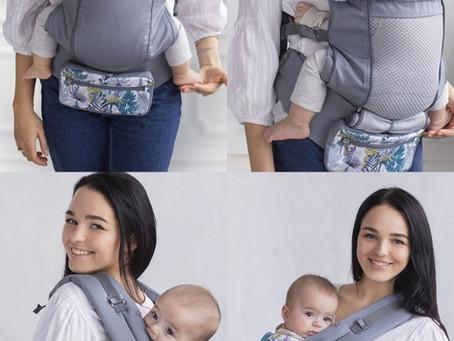 Love & Carry® Air X Marsupio Ergonomico Toddler con schiena a rete
