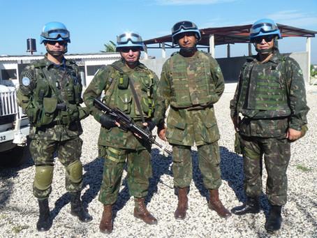 Como é ser veterano Fuzileiro Naval fora do Brasil?
