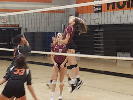 Lady Wildcat Volleyball Swats Powell