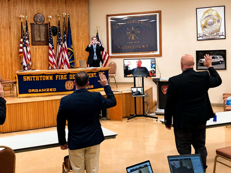 Smithtown Holds Department and Company Elections Remotely