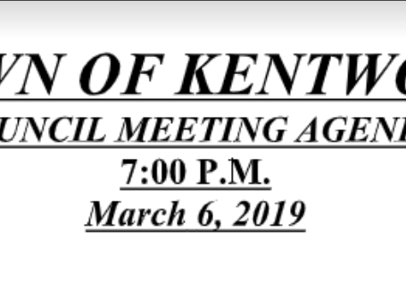 View the March 2019 Meeting Agenda