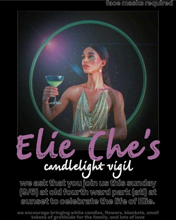 Elie Che Candle light Vigil
