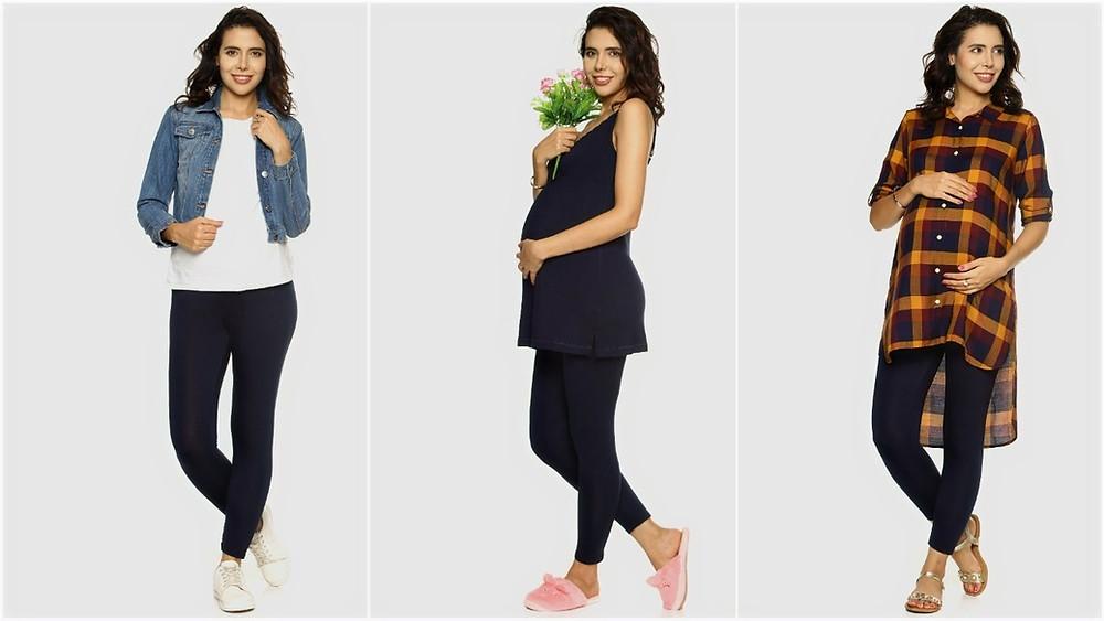 maternity wear, purple flaunt