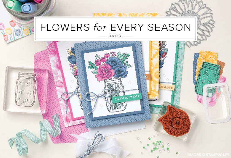 Flowers for Every Season Stampin' Up! Product Suite image
