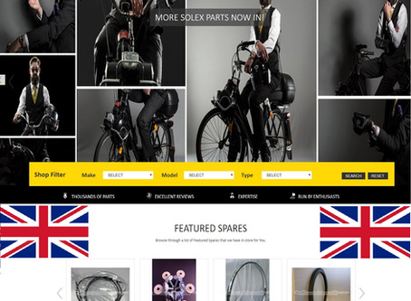 Classic Moped Spares (U.K.) increase range of Solex parts