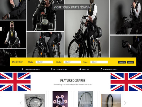Classic Moped Spares (U.K.) increase range of Solex parts