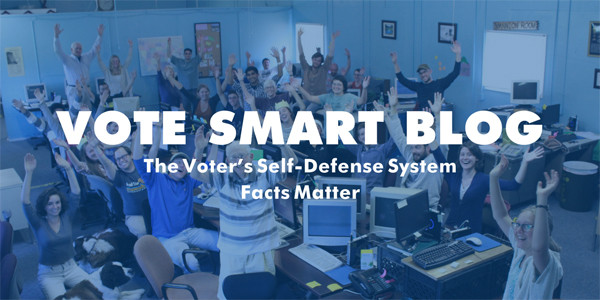 Image of our new Vote Smart blog header.