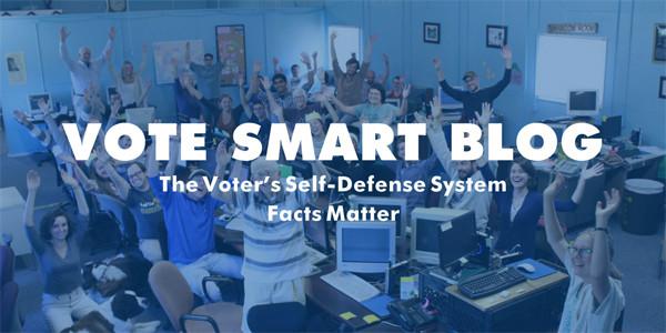 Image of our new Vote Smart blog header.