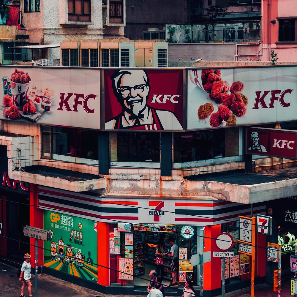 KFC na China