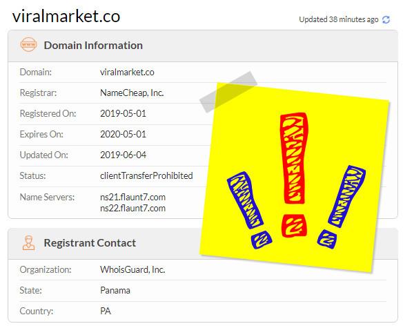 Viralmarket SCAM