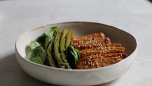 Tofu Teriyaki in padella - Secondo Piatto Vegan