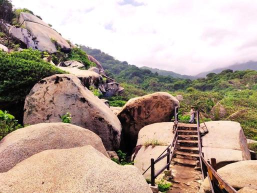 Le parc de Tayrona en Colombie