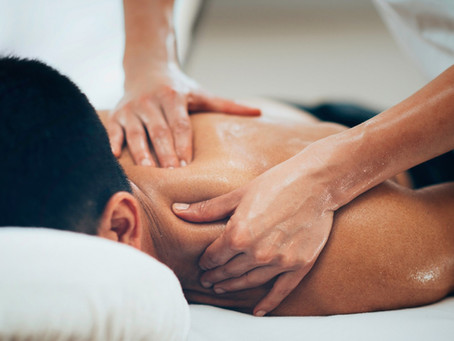 O poder da massagem Relaxante