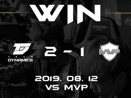 [MATCH RESULT] vs MVP