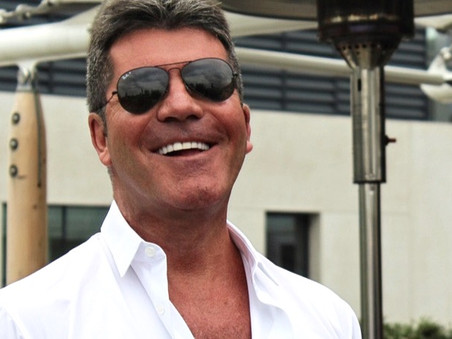 Simon Cowell starts his road to recovery with tentative steps