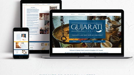 Gujarati Foods Website