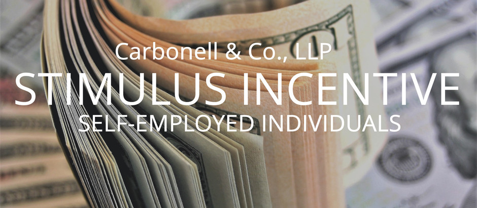 Stimulus Incentive for Self-Employed Individuals