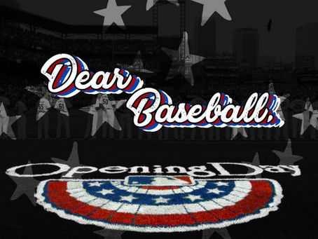 Dear Baseball...