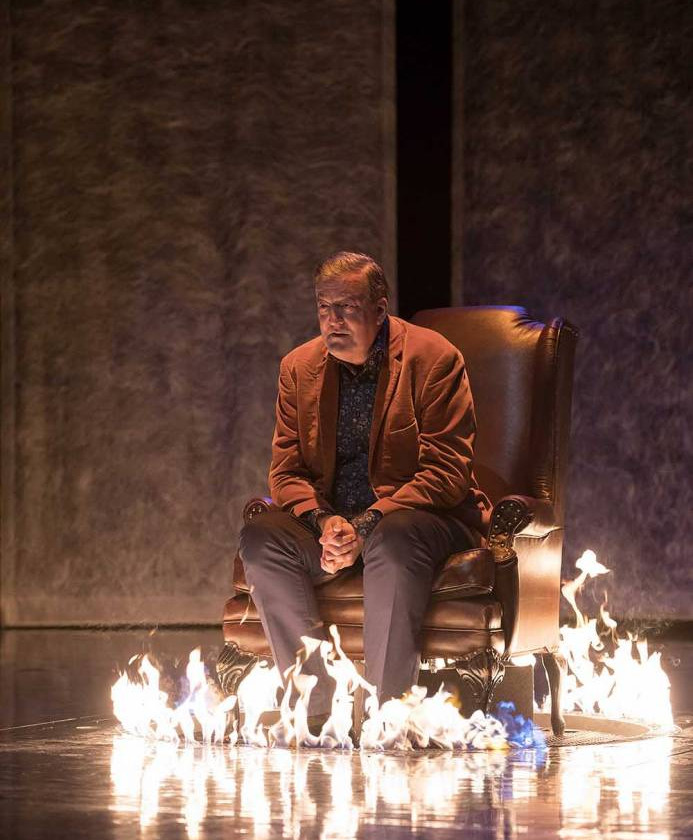 Stephen Fry scales Mount Olympus to bring Mythos: A Trilogy to mere mortals at The Lowry, Salford Quays