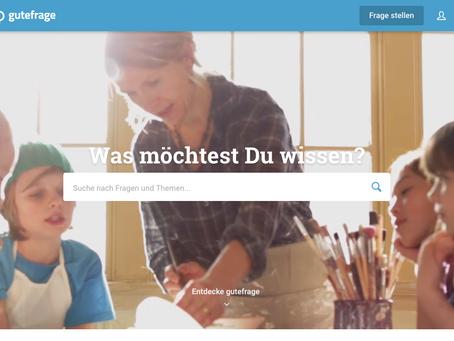 Gutefrage.net fragt auch bei Werbung den Nutzer