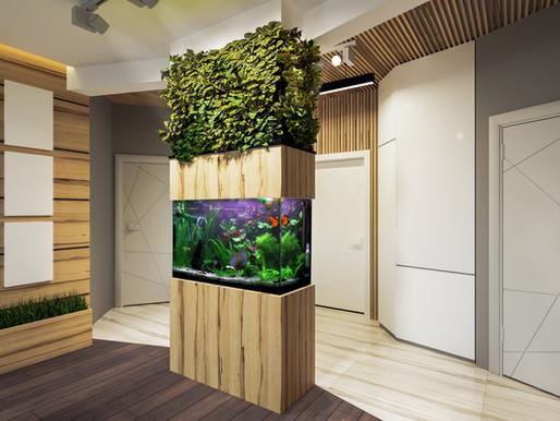 Das Aquarium ist 120x50x70 , Aussenfiltwe und LED Beleuchtung.