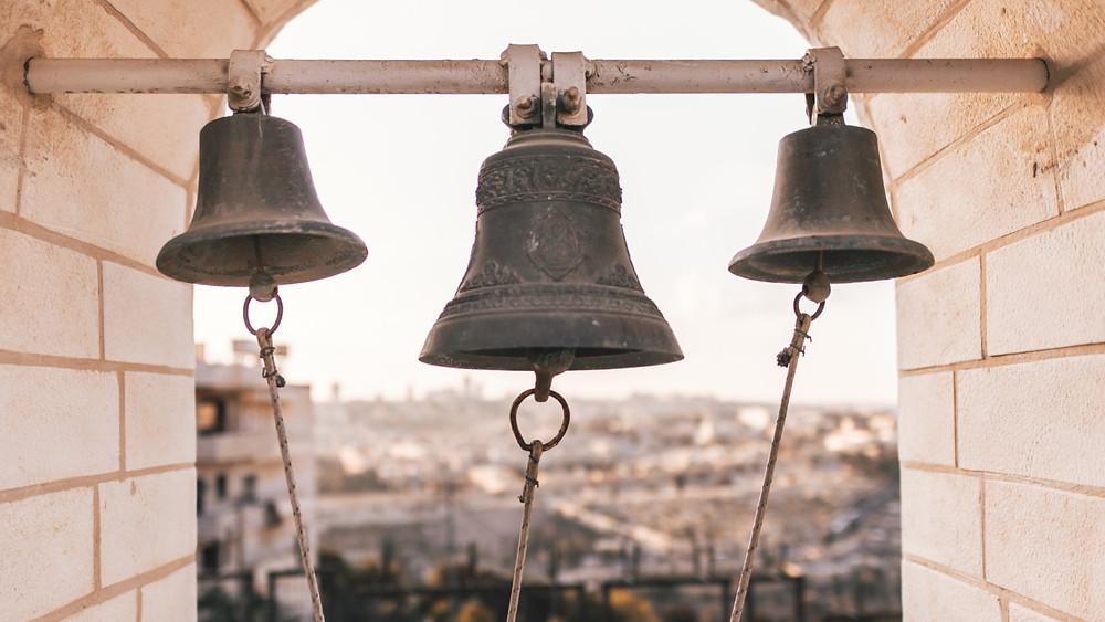 3 bells in Jerusalem