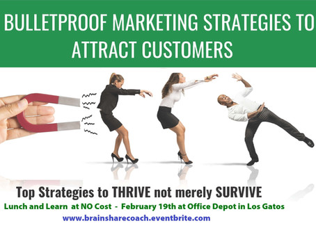 5 Bulletproof Marketing Strategies to Attract Customers