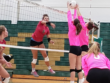 The Lady Wildcats Volleyball fall to Knox Catholic