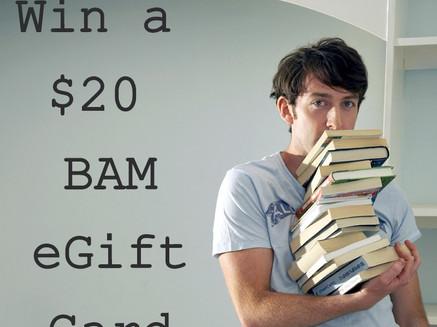 Contest: Win a $20 Books-A-Million eGift Card