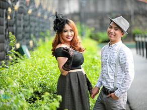 { Ian + Kristine } Intramuros Prenup | Manila Engagement Photo Session | Budget Friendly Package