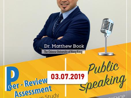 Thông báo V/v dời lịch workshop với TS Matthew Book
