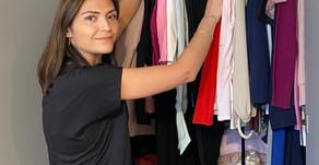 Personal Stylist does Wardrobe Organization