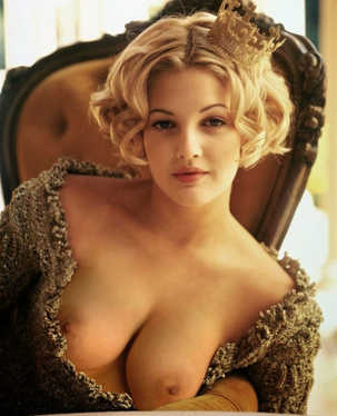 Drew Barrymore Undressed