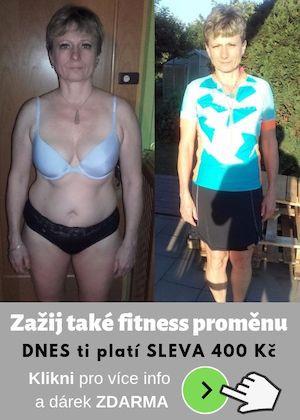 Hubnutí a fitness členství s Dančou