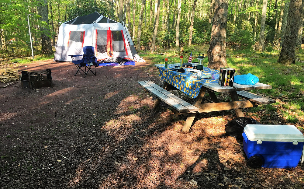 Hickory Run State Park Campground